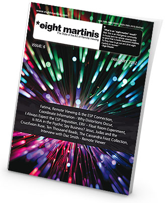 Eight Martinis issue 6 - remote viewing magazine