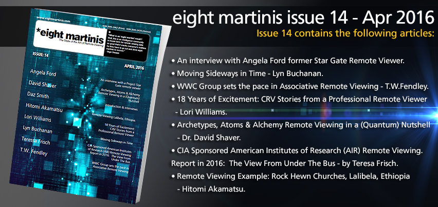 Click for eight martinis issue 14 - April 2016
